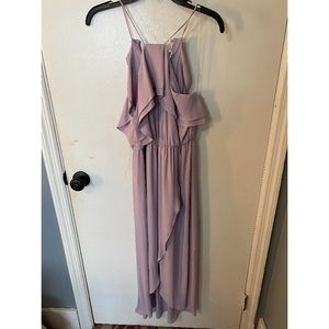 Lavender High-Low Dress